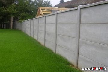 Beautiful cloture jardin en beton pictures design trends - Crepir un mur exterieur en parpaing ...