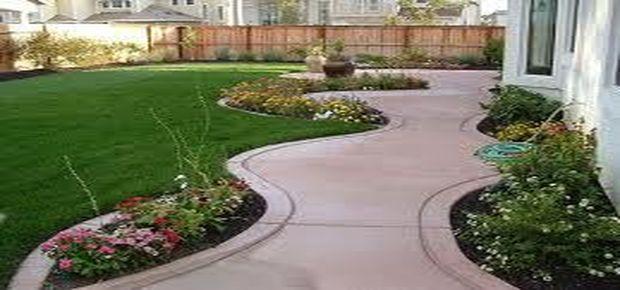 Faire une allée en béton pour le jardin, le garage, avec différent ...