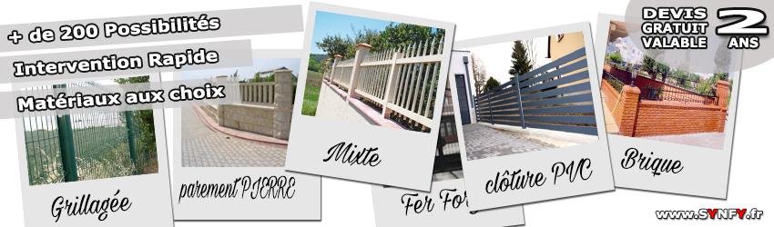 Faire une de clôture, ST LEU LA FORET Val dOise 95320 tous type de ...